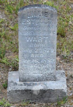 WART, LILLIE ESTELLE - Webster County, Louisiana | LILLIE ESTELLE WART - Louisiana Gravestone Photos