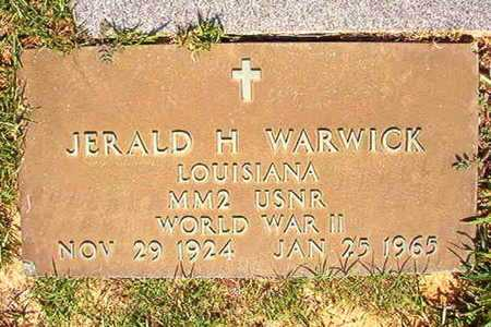 WARWICK, JERALD H (VETERAN WWII) - Webster County, Louisiana | JERALD H (VETERAN WWII) WARWICK - Louisiana Gravestone Photos