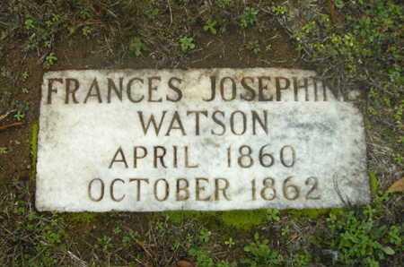WATSON, FRANCES JOSEPHINE - Webster County, Louisiana | FRANCES JOSEPHINE WATSON - Louisiana Gravestone Photos