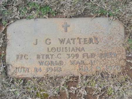 WATTERS, J G (VETERAN WWII) - Webster County, Louisiana | J G (VETERAN WWII) WATTERS - Louisiana Gravestone Photos