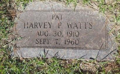 WATTS, HARVEY P - Webster County, Louisiana | HARVEY P WATTS - Louisiana Gravestone Photos