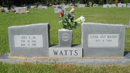 WATTS, JOEL S., JR - Webster County, Louisiana | JOEL S., JR WATTS - Louisiana Gravestone Photos