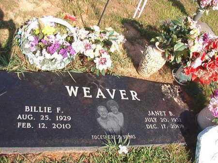 WEAVER, JANET B - Webster County, Louisiana | JANET B WEAVER - Louisiana Gravestone Photos