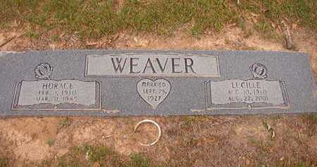 WEAVER, HORACE - Webster County, Louisiana | HORACE WEAVER - Louisiana Gravestone Photos