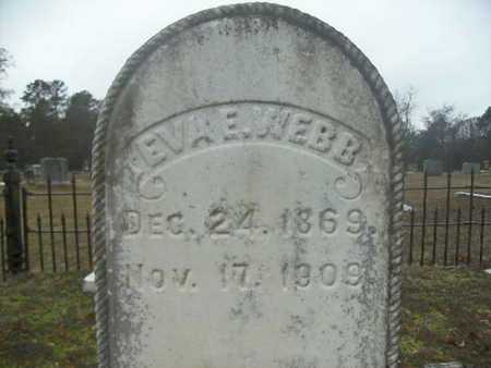 WEBB, EVA E - Webster County, Louisiana | EVA E WEBB - Louisiana Gravestone Photos