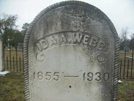 WEBB, IDA A - Webster County, Louisiana | IDA A WEBB - Louisiana Gravestone Photos