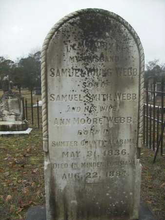WEBB, SAMUEL YOUNG - Webster County, Louisiana | SAMUEL YOUNG WEBB - Louisiana Gravestone Photos