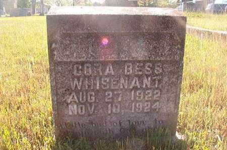 WHISENHUNT, CORA BESS - Webster County, Louisiana | CORA BESS WHISENHUNT - Louisiana Gravestone Photos