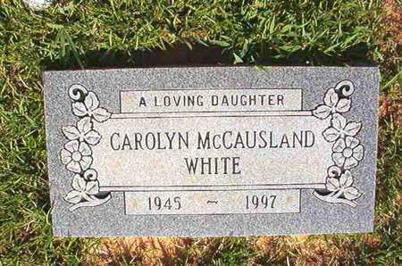 WHITE, CAROLYN - Webster County, Louisiana | CAROLYN WHITE - Louisiana Gravestone Photos
