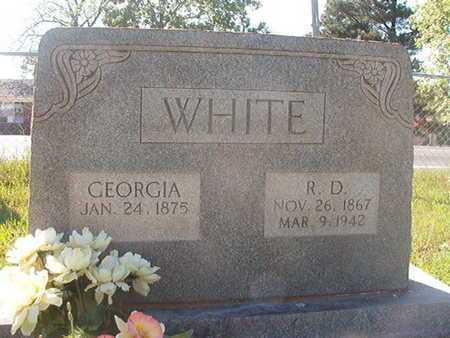 WHITE, GEORGIA - Webster County, Louisiana | GEORGIA WHITE - Louisiana Gravestone Photos