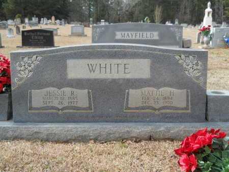 WHITE, JESSIE RICHARDSON - Webster County, Louisiana   JESSIE RICHARDSON WHITE - Louisiana Gravestone Photos