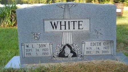 WHITE, EDITH C - Webster County, Louisiana   EDITH C WHITE - Louisiana Gravestone Photos