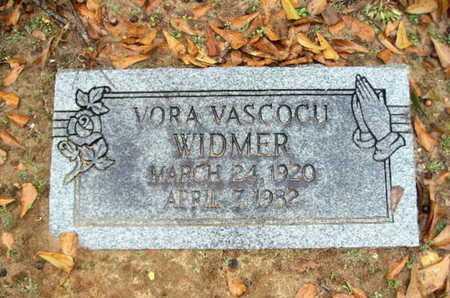 VASCOCU WIDMER, VORA - Webster County, Louisiana   VORA VASCOCU WIDMER - Louisiana Gravestone Photos