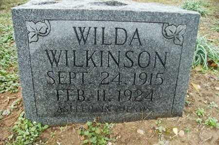WILKINSON, WILDA - Webster County, Louisiana | WILDA WILKINSON - Louisiana Gravestone Photos