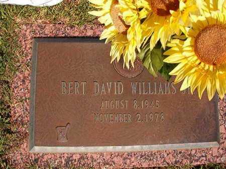 WILLIAMS, BERT DAVID - Webster County, Louisiana | BERT DAVID WILLIAMS - Louisiana Gravestone Photos