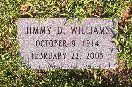 WILLIAMS, JIMMY D - Webster County, Louisiana | JIMMY D WILLIAMS - Louisiana Gravestone Photos