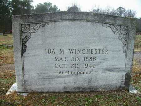 SQUIRES WINCHESTER, IDA MILLIE - Webster County, Louisiana | IDA MILLIE SQUIRES WINCHESTER - Louisiana Gravestone Photos