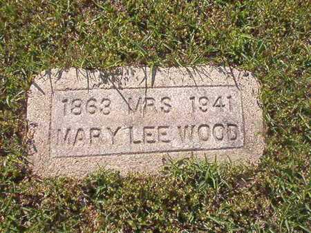 WOOD, MARY LEE - Webster County, Louisiana | MARY LEE WOOD - Louisiana Gravestone Photos