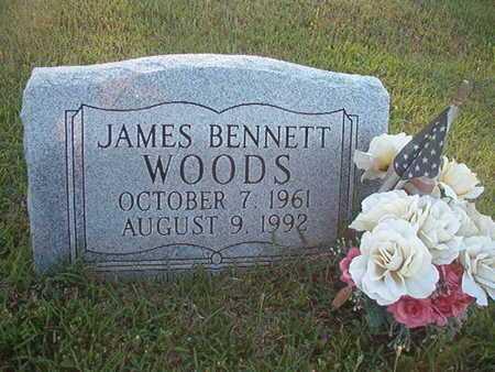 WOODS, JAMES BENNETT - Webster County, Louisiana | JAMES BENNETT WOODS - Louisiana Gravestone Photos
