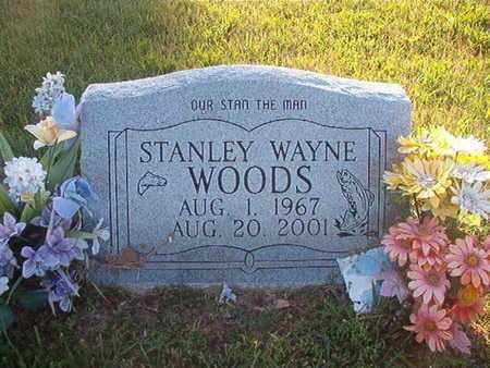 WOODS, STANLEY WAYNE - Webster County, Louisiana | STANLEY WAYNE WOODS - Louisiana Gravestone Photos