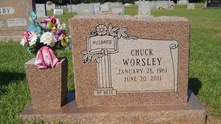 WORSLEY, CHUCK - Webster County, Louisiana | CHUCK WORSLEY - Louisiana Gravestone Photos
