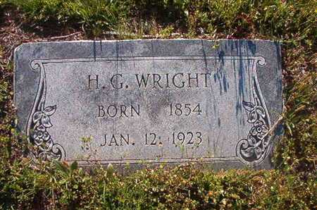 WRIGHT, H G - Webster County, Louisiana   H G WRIGHT - Louisiana Gravestone Photos