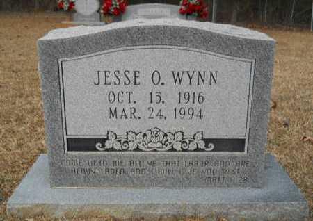 WYNN, JESSE O - Webster County, Louisiana   JESSE O WYNN - Louisiana Gravestone Photos
