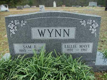 WYNN, LILLIE MAYE - Webster County, Louisiana | LILLIE MAYE WYNN - Louisiana Gravestone Photos