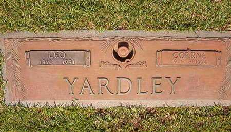 YARDLEY, LEO - Webster County, Louisiana | LEO YARDLEY - Louisiana Gravestone Photos