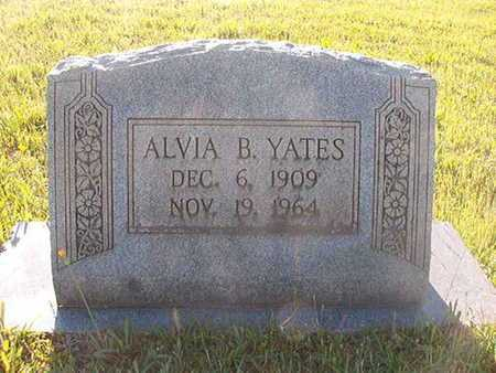 YATES, ALVIA B - Webster County, Louisiana | ALVIA B YATES - Louisiana Gravestone Photos