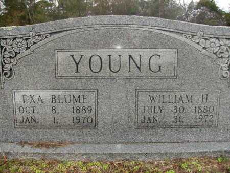 YOUNG, WILLIAM H - Webster County, Louisiana | WILLIAM H YOUNG - Louisiana Gravestone Photos