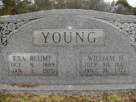 BLUME YOUNG, EXA - Webster County, Louisiana | EXA BLUME YOUNG - Louisiana Gravestone Photos