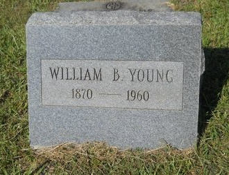 YOUNG, WILLIAM B - Webster County, Louisiana   WILLIAM B YOUNG - Louisiana Gravestone Photos