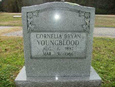 BRYAN YOUNGBLOOD, CORNELIA - Webster County, Louisiana | CORNELIA BRYAN YOUNGBLOOD - Louisiana Gravestone Photos