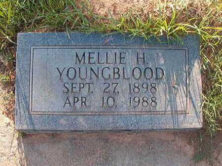 YOUNGBLOOD, MELLIE H - Webster County, Louisiana | MELLIE H YOUNGBLOOD - Louisiana Gravestone Photos