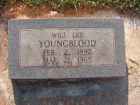 YOUNGBLOOD, WILL LEE - Webster County, Louisiana | WILL LEE YOUNGBLOOD - Louisiana Gravestone Photos