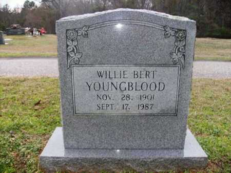 YOUNGBLOOD, WILLIE BERT - Webster County, Louisiana | WILLIE BERT YOUNGBLOOD - Louisiana Gravestone Photos