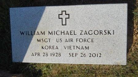 ZAGORSKI, WILLIAM MICHAEL (VETERAN 2 WARS) - Webster County, Louisiana | WILLIAM MICHAEL (VETERAN 2 WARS) ZAGORSKI - Louisiana Gravestone Photos