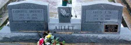 AILLET, CATHERINE - West Baton Rouge County, Louisiana   CATHERINE AILLET - Louisiana Gravestone Photos