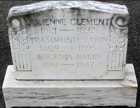 BABIN, JULIENNE - West Baton Rouge County, Louisiana | JULIENNE BABIN - Louisiana Gravestone Photos