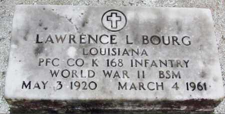 BOURG, LAWRENCE L (VETERAN WWII) - West Baton Rouge County, Louisiana   LAWRENCE L (VETERAN WWII) BOURG - Louisiana Gravestone Photos