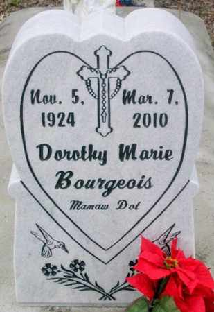 BOURGEOIS, DOROTHY MARIE - West Baton Rouge County, Louisiana | DOROTHY MARIE BOURGEOIS - Louisiana Gravestone Photos