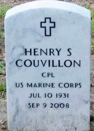 COUVILLON, HENRY S (VETERAN) - West Baton Rouge County, Louisiana | HENRY S (VETERAN) COUVILLON - Louisiana Gravestone Photos