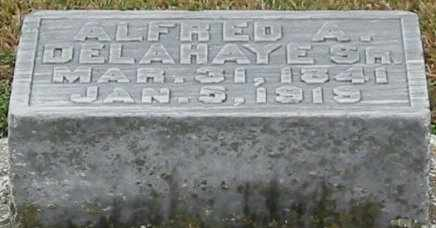 DELAHAYE, ALFRED A, SR - West Baton Rouge County, Louisiana | ALFRED A, SR DELAHAYE - Louisiana Gravestone Photos