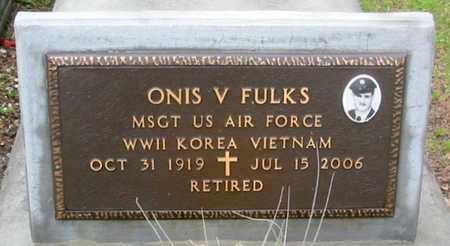 FULKS, ONIS V (VETERAN 3 WARS) - West Baton Rouge County, Louisiana | ONIS V (VETERAN 3 WARS) FULKS - Louisiana Gravestone Photos