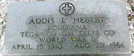 HEBERT, ADDIS L (VETERAN WWII) - West Baton Rouge County, Louisiana | ADDIS L (VETERAN WWII) HEBERT - Louisiana Gravestone Photos