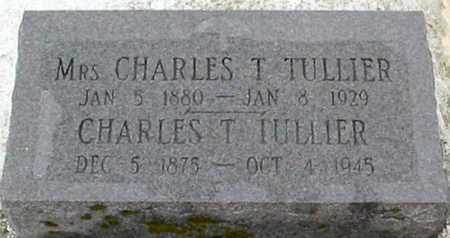 TULLIER, CHARLES T - West Baton Rouge County, Louisiana | CHARLES T TULLIER - Louisiana Gravestone Photos
