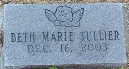 TULLIER, BETH MARIE - West Baton Rouge County, Louisiana | BETH MARIE TULLIER - Louisiana Gravestone Photos