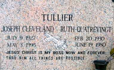 QUATREVINGT TULLIER, RUTH - West Baton Rouge County, Louisiana | RUTH QUATREVINGT TULLIER - Louisiana Gravestone Photos