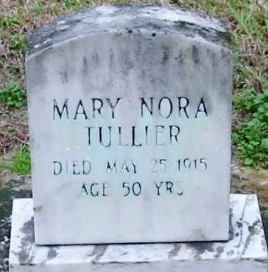 TULLIER, MARY NORA - West Baton Rouge County, Louisiana | MARY NORA TULLIER - Louisiana Gravestone Photos